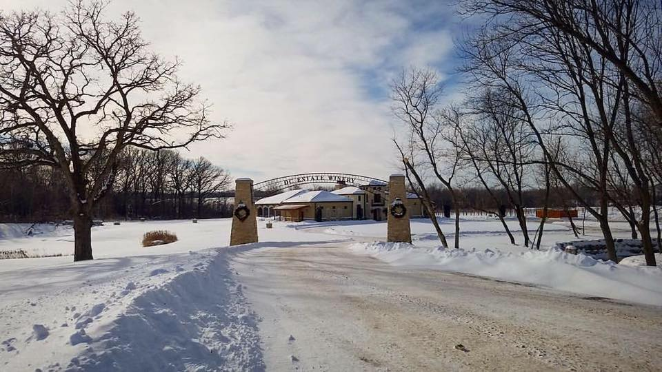 DC Estate Winery in Winter