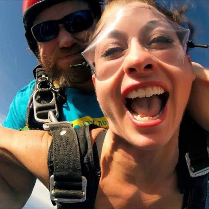 skydive and glide at Beloit Airport