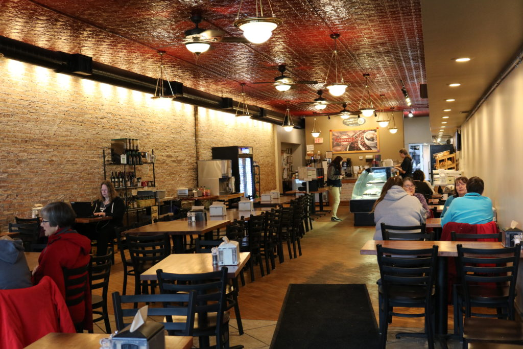 Dining in Beloit at Bagels & More