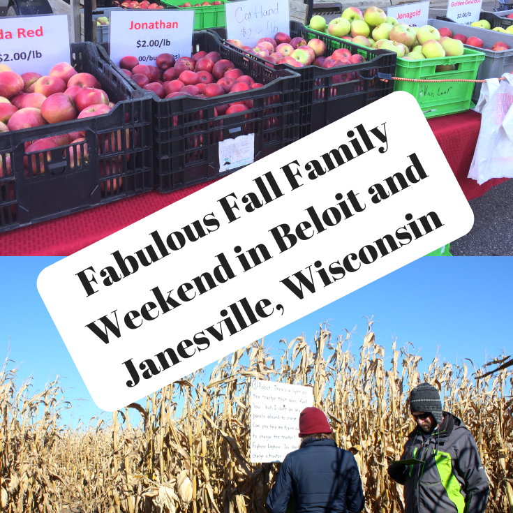 Fabulous Fall Family Weekend in Beloit and Janesville, Wisconsin