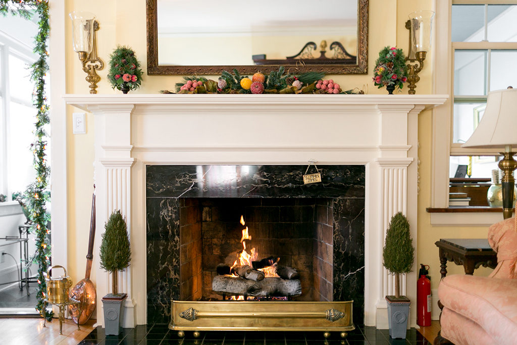 1810 Emerson House Fireplace