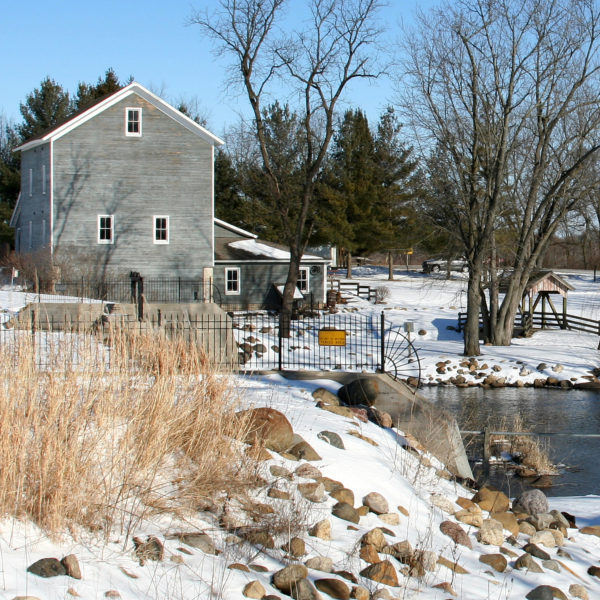 Beckman Mill-Winter