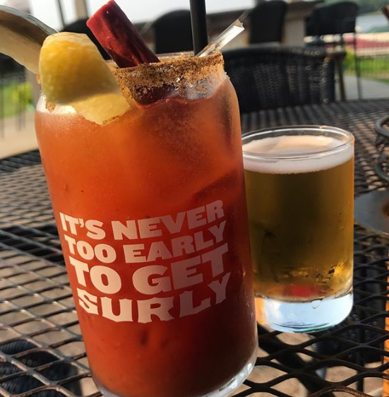 Bloody Mary at The Rock Bar & Grill