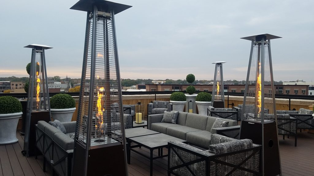 Roof Top at Hotel Goodwin