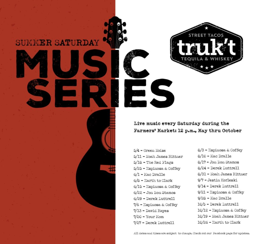 music at truk't in Beloit