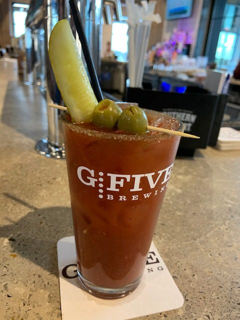 bloody mary at G5