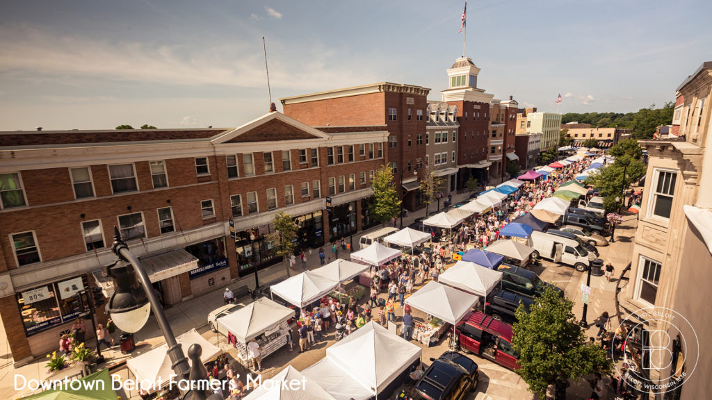 downtown beloit farmers market