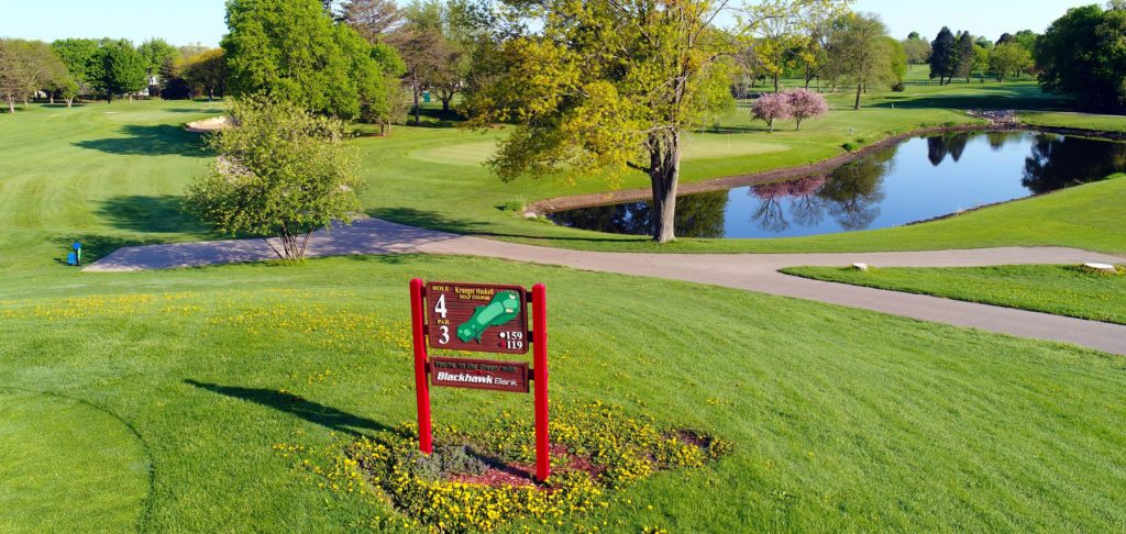 Things to do outside include krueger-haskell golf course