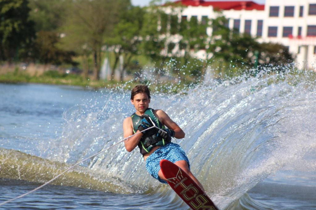 things to do in beloit include waterskiing on the Rock River
