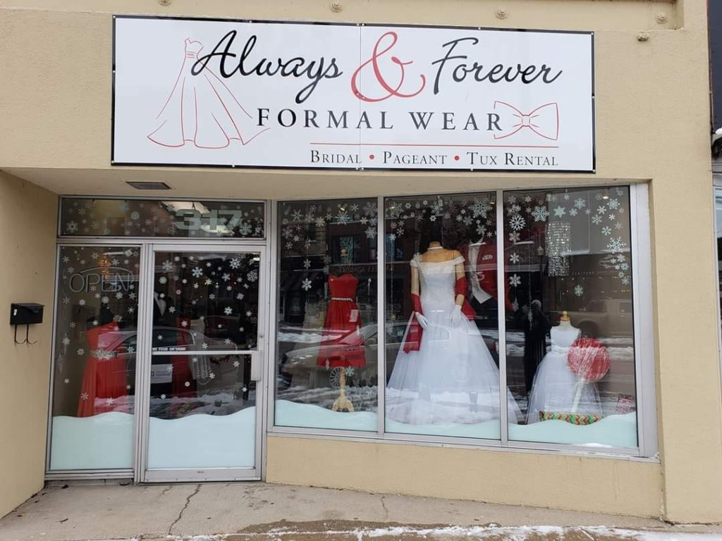 Always and Forever store front