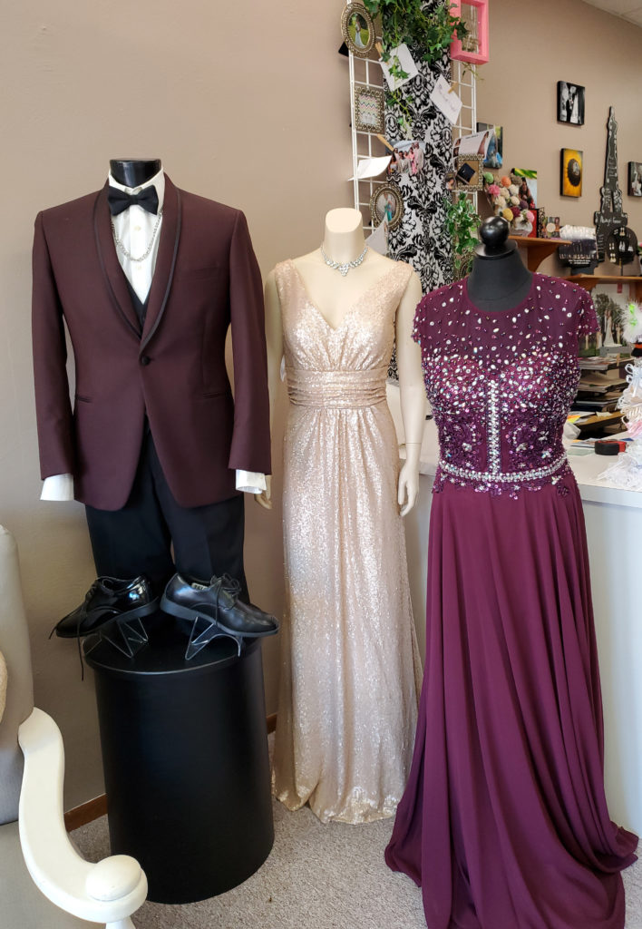 tux and dresses